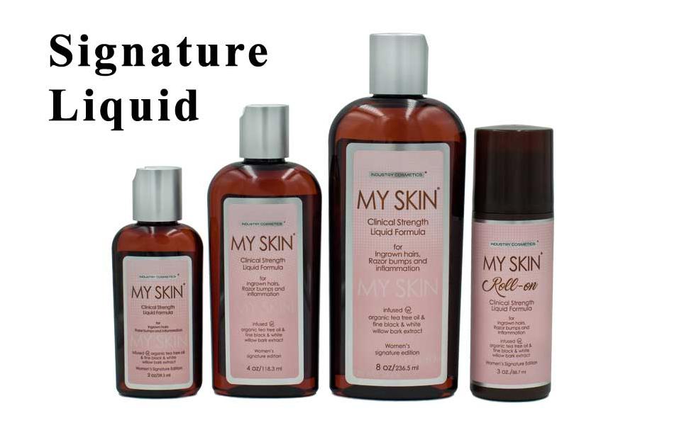 Go My Skin signature liquids